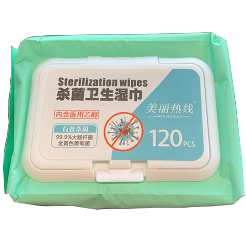 Alcohol Wet Wipes (120 sheets)