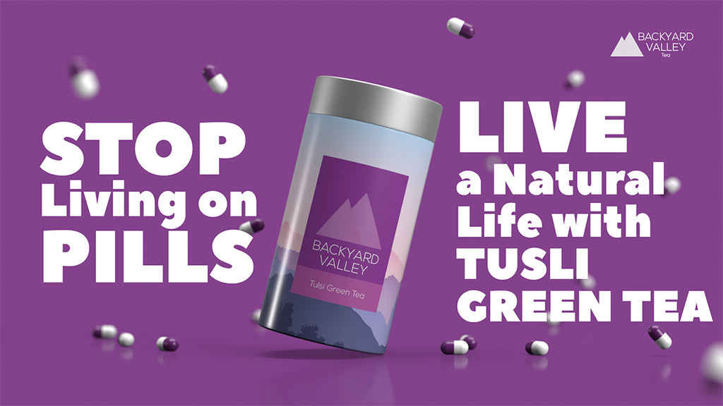 Best Tulsi Green Tea | Backyard Valley