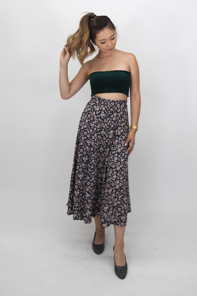 VINTAGE MAXI SKIRT BALE OF 100 LBS