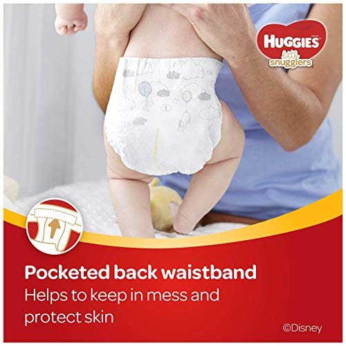 Huggies Little Snugglers Baby Diapers, Size 2, 180 Ct, One Month Supply