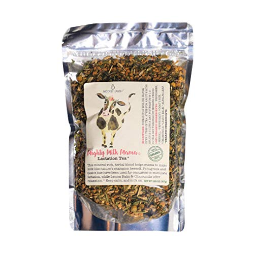 Modest Earth Mighty Milk Mama Tea - Lactation, Postpartum Care & Breastmilk Supply for Nursing Women