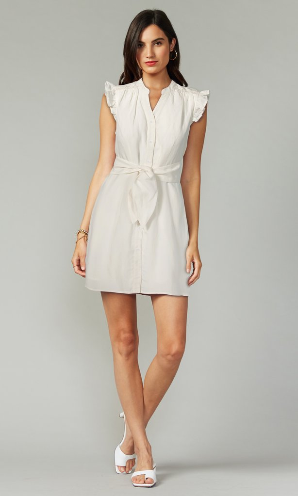 Jena Dress in White