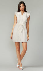 Load image into Gallery viewer, Jena Dress in White