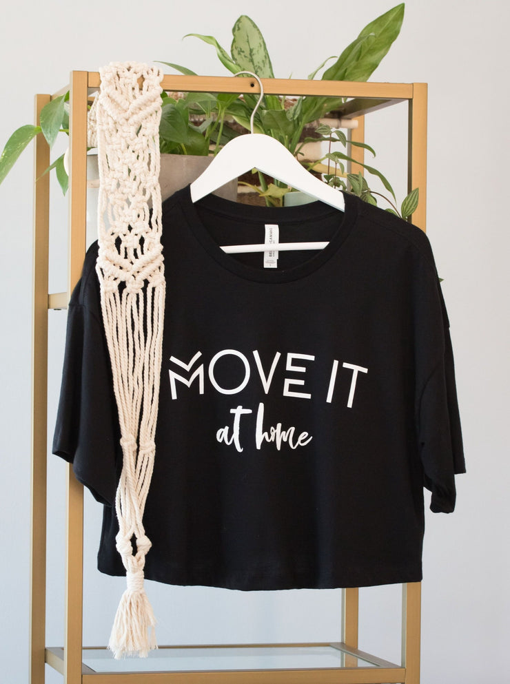 Move It at Home Cropped Tee