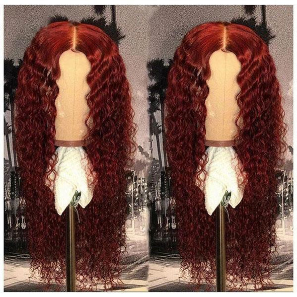 Preferred Red Curly Hair-140%(EXTRA THICK AS IN VIDEO)