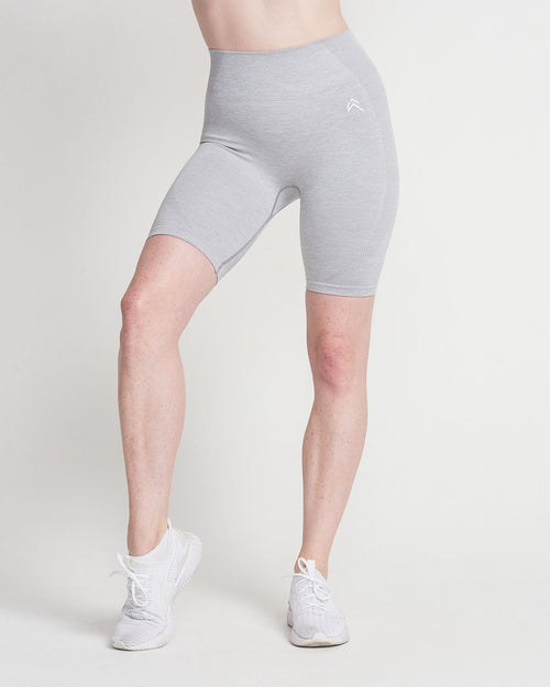 Oner Modal Classic Seamless Cycling Shorts | Grey Marl