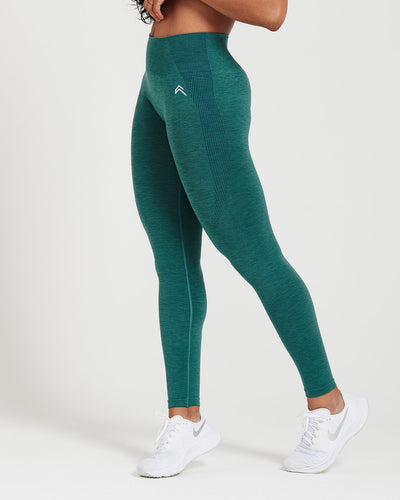 Classic Seamless Leggings | Mineral Green Marl