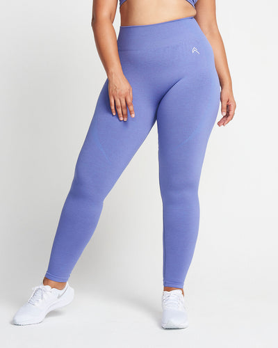 Classic Seamless Leggings | Purple Marl