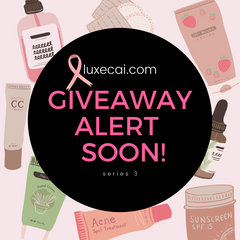 Breast Cancer Awareness Campaign, Giveaway Alert