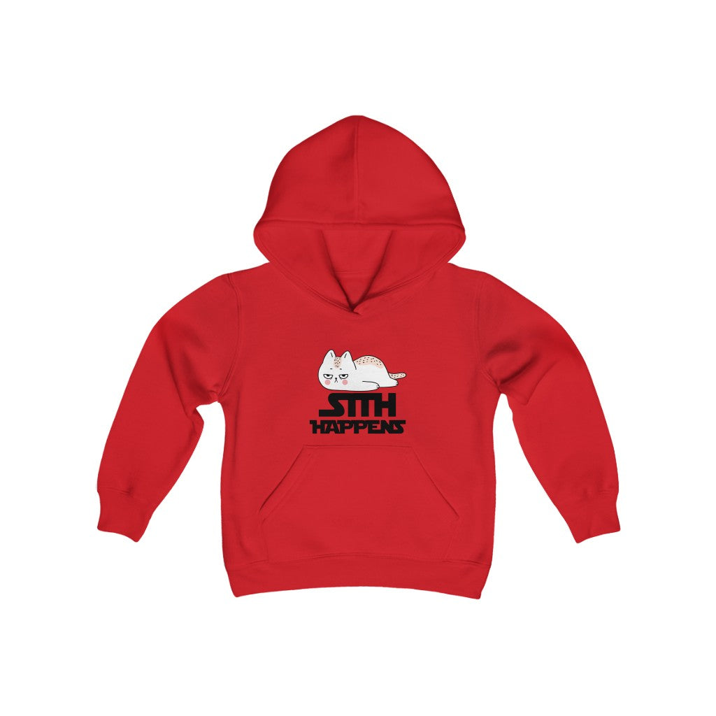 Youth Heavy Blend Hooded Sweatshirt SITH HAPEENS