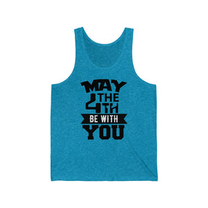 MAY THE 4TH BE WITH YOU Jersey Tank