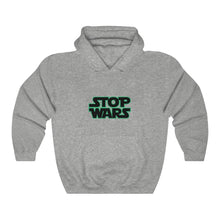 Load image into Gallery viewer, Heavy Blend™ STOP WARS Hooded Sweatshirt
