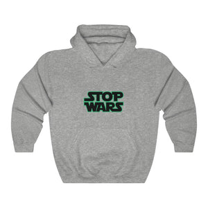 Heavy Blend™ STOP WARS Hooded Sweatshirt