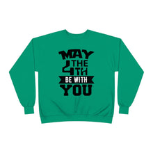Load image into Gallery viewer, EcoSmart® MAY THE 4TH BE WITH YOU Crewneck Sweatshirt