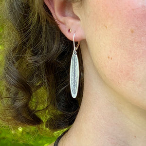 Rosemary Leaf Earrings
