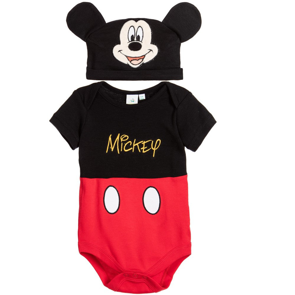 Mickey Mouse Bodysuit   Hat - Milan Pearl Boutique a3554c6137f