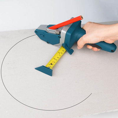 Drywall Cutting Tool with Tape Measure