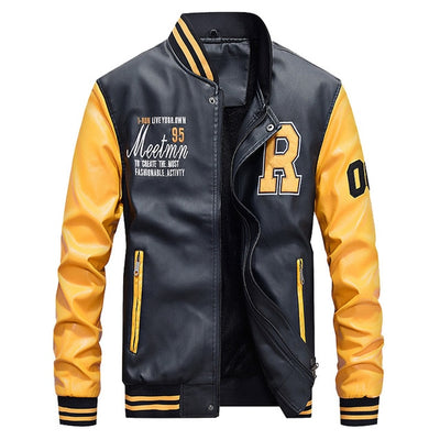 Men Baseball Jacket - Swag Shack