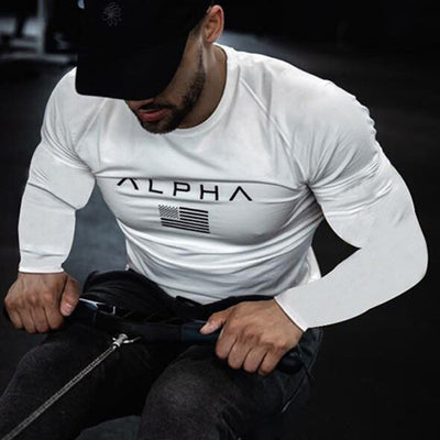 Long Sleeve Fitness T-Shirt - Swag Shack