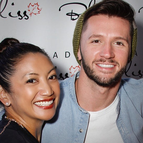 Travis Wall So You Think You Can Dance SYTYCD and Canada Bliss CEO Designer Karen Viloria-Miguel