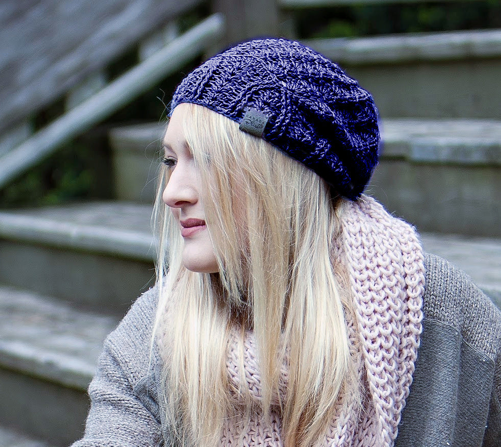 *NEW* Cherish Bamboo Lightweight Hat | Indigo Blue