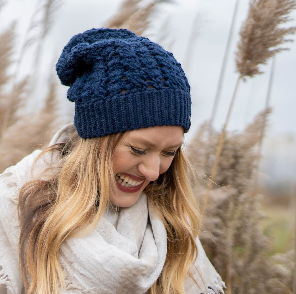 *NEWLY RESTOCKED* Dreams Hat | *NEW* Deep Navy Blue | Baby Alpaca