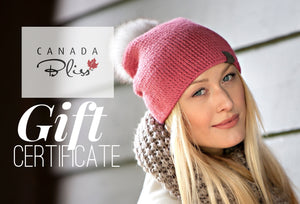 Canada Bliss® Gift Certificate