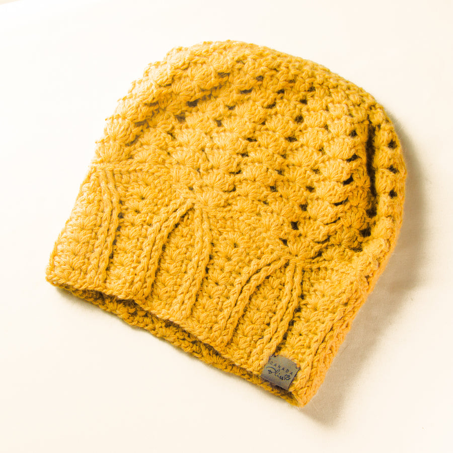 Cherish Hat | *NEWLY RESTOCKED* Yellow | Baby Alpaca