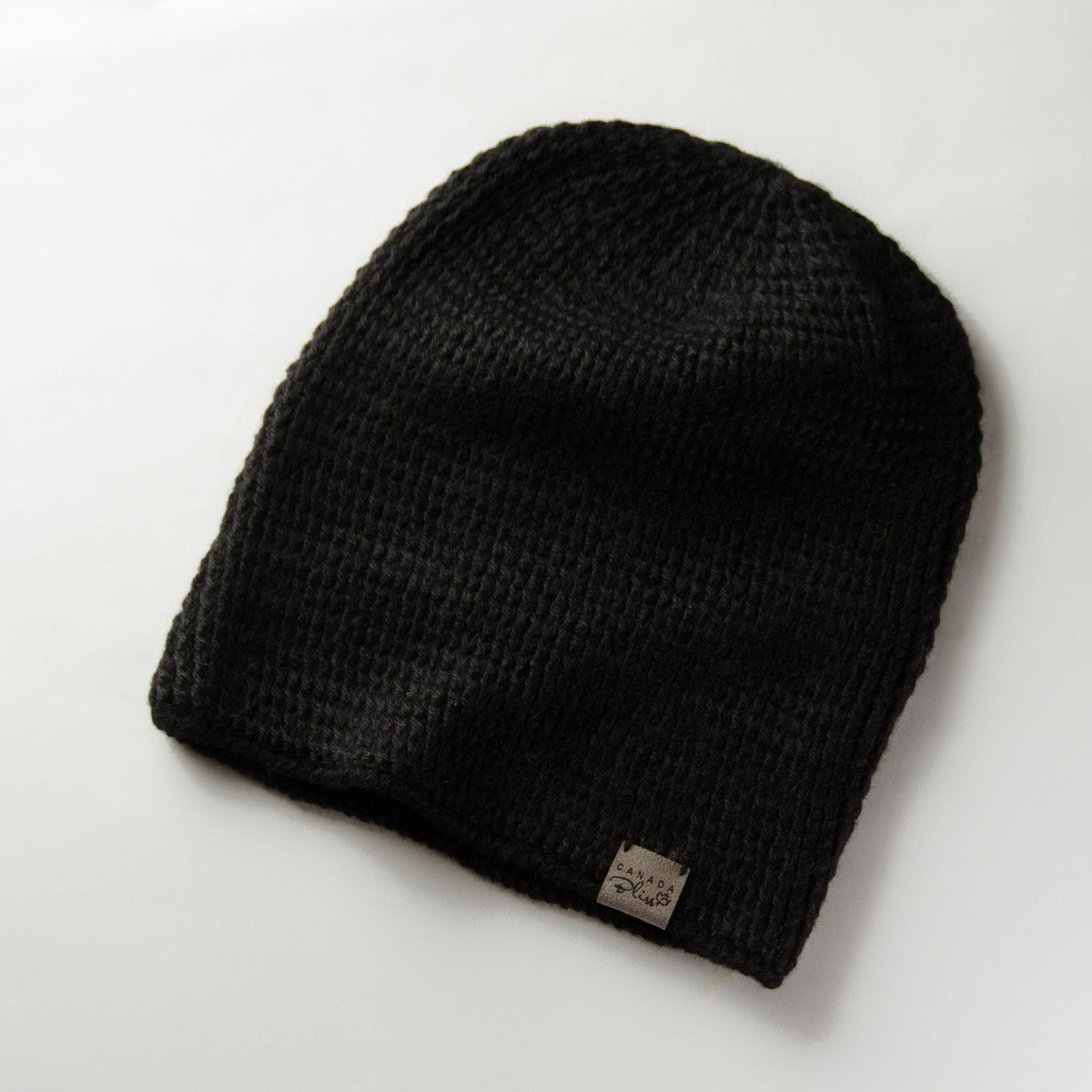 Fundamental Pom Pom Hat Toque | Black Alpaca | Fur Pom Pom