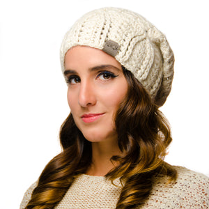 Cherish Hat | *NEWLY RESTOCKED* Light Cream | Baby Alpaca