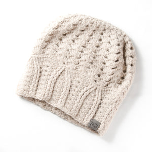 Cherish Hat | *NEW* Light Cream | Baby Alpaca