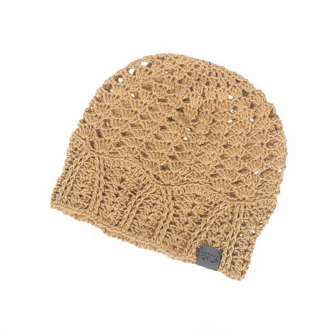 Mustard Cherish Bamboo Lightweight Hat Crochet Knit Hat Canada Bliss Hot Accessories Celebrity Fashion Style Beanie Spring Summer Fall Winter Fashion
