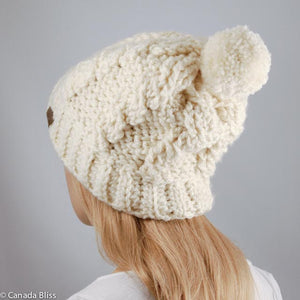 LET'S CROCHET A GORGEOUS ALPACA HAT! (March 21 & 28, 2020) | Intermediate, Crochet Class