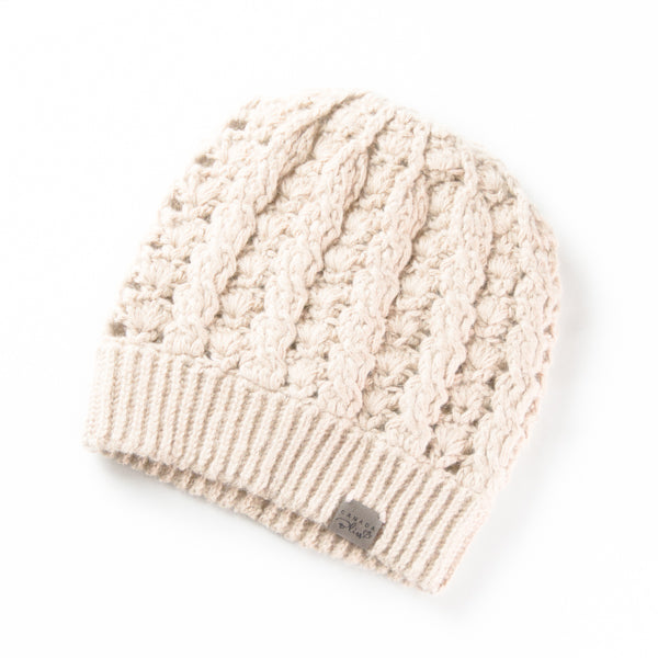 Dreams Hat | *NEWLY RESTOCKED * Light Cream | Baby Alpaca