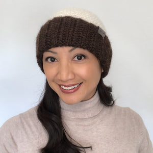 Pom Pom Hat | Crochet Knit Hat | Unisex hat | Beanie Fall Winter Fashion