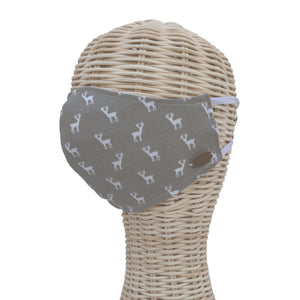 Canada Bliss Face Mask | Washable, Reusable, Double-Layer, Handmade Premium Cotton | Oh Deer