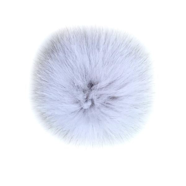 White Fox Fur Pom Pom Option | Alternate Pom Pom | Replacement Pom Pom on Canada Bliss® Hats