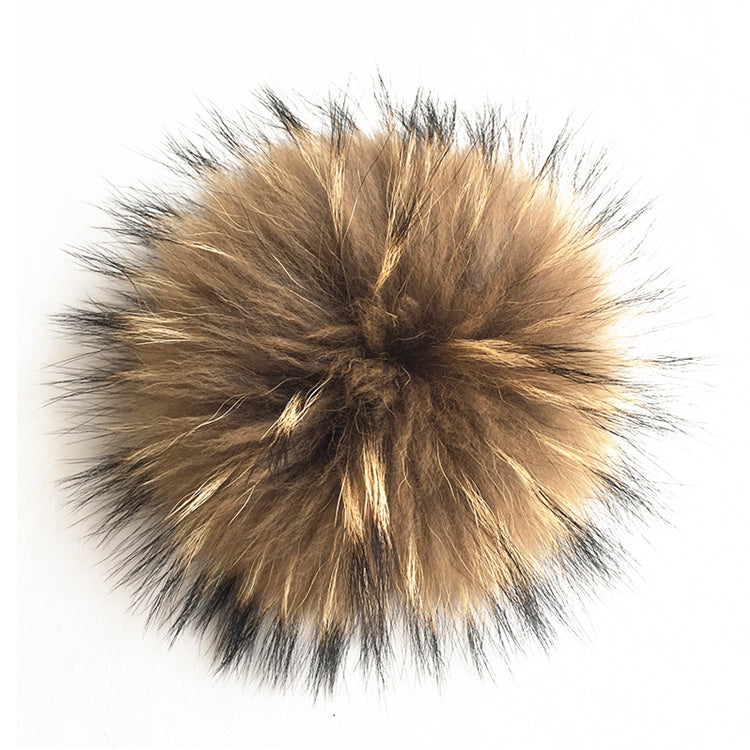 *NEW* Signature Pom Pom Hat | Light Silver Chunky Merino | Fur Pom Pom