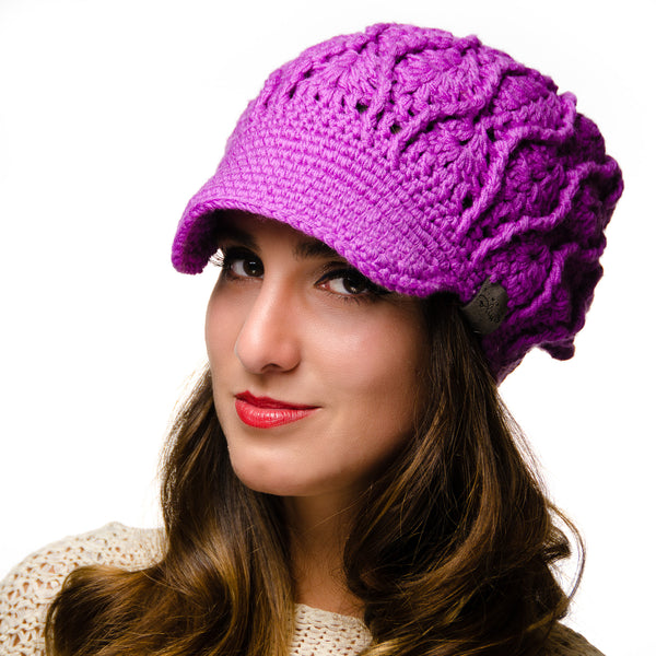 Canada Bliss Resonate Newsboy Merino hat beanie