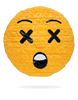 Blacked Out Emoji Piñata