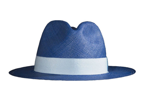 Blue (Panama hat)