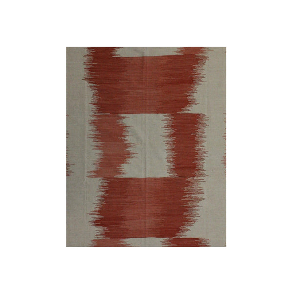 Red and White - Kilim Rug
