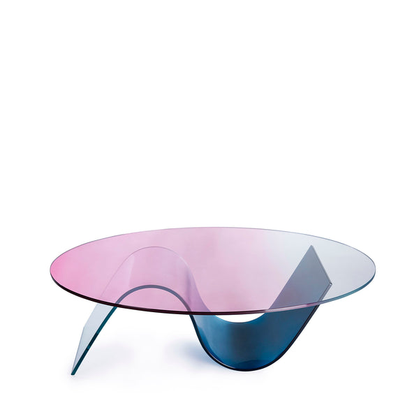 The Small Curvy Wave - Oval Top - Coffee Table