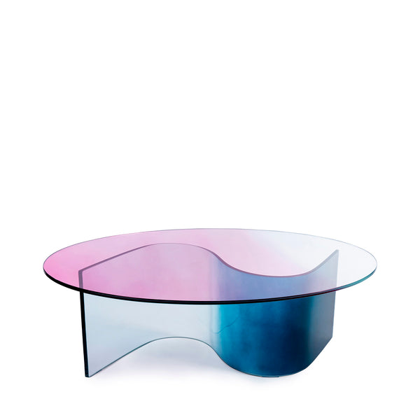 The Small Curvy Wave - Dessus Oval - Table Basse