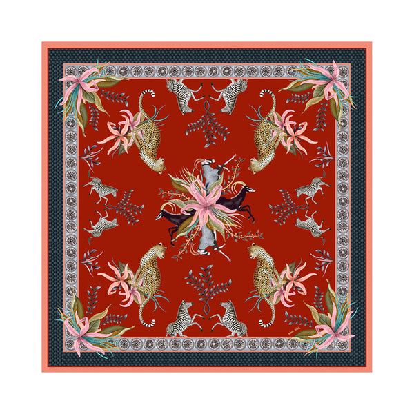 Tablecloth - Leopard Lily - Square