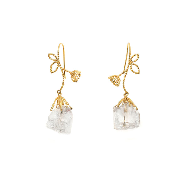 Medium Iceflower - Boucles D'Oreilles
