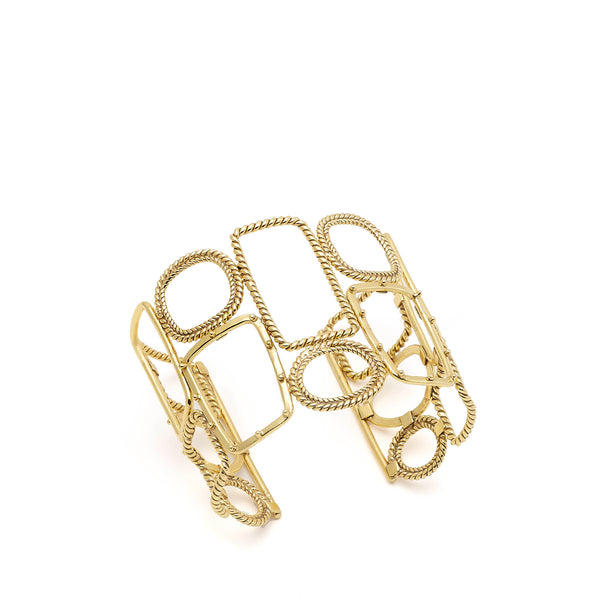 Twisted Mondrianetti Cuff