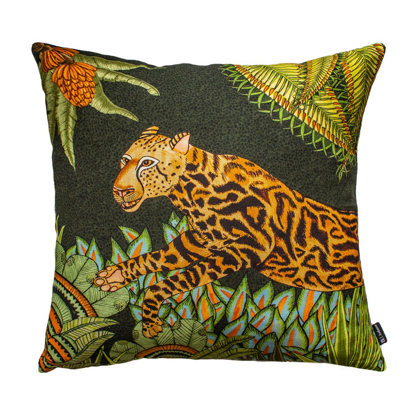 Coussin - Cheetah Kings Forest - Coton 50x50cm