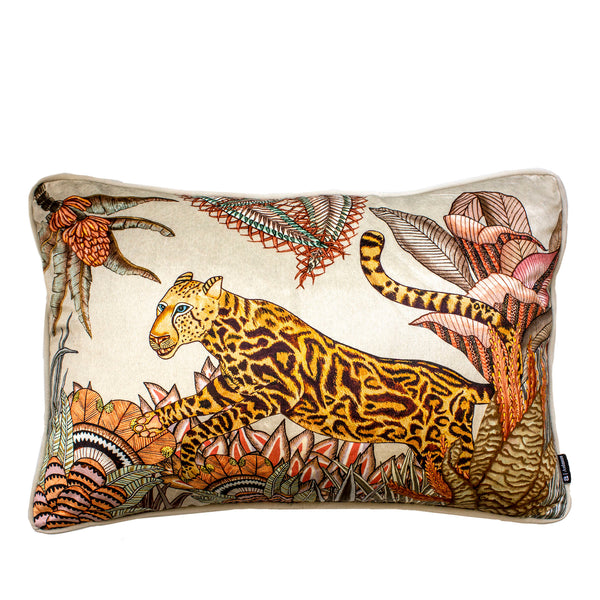 Coussin - Cheetah Kings Forest - Velours 60x40cm