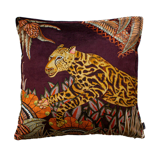 Coussin - Cheetah Kings Forest - Velours 60x60cm